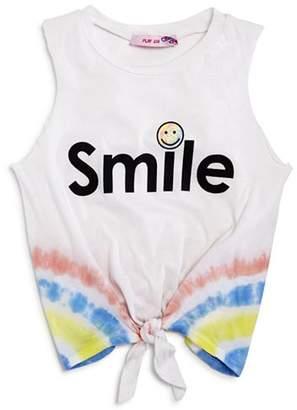 Play Six Girls' Tie-Dye Smile Tank - Little Kid