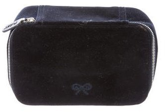 Anya Hindmarch Anya Hindmarch Velvet Cosmetic Bag