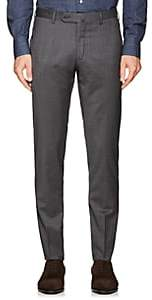 Incotex Men's S-Body Slim Wool Trousers - Gray