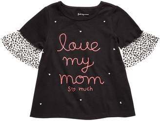 First Impressions Baby Girl's Graphic Cotton Top