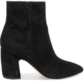 ddf8093800e Sam Edelman Black Suede Boots For Women - ShopStyle UK