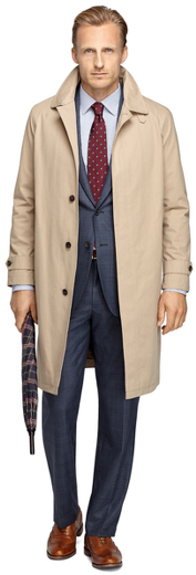 Brooks Brothers Cape Trench Coat