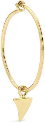 Sebastian Sarah & SARAH & Thorn Gold Hoop Earring - one size