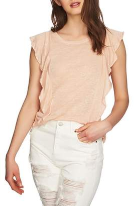 1 STATE 1.STATE Ruffle Linen Top
