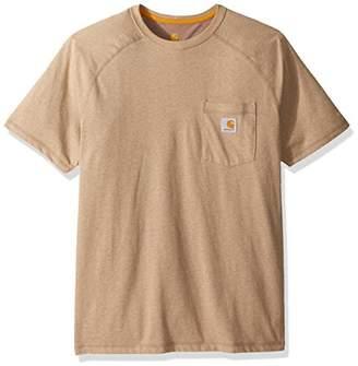 Carhartt Men's Force Cotton Delmont Short Sleeve T-Shirt Relaxed Fit