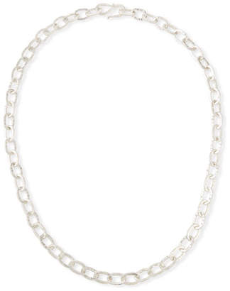 "Dina Mackney Sterling Silver Chain Necklace, 30""L"