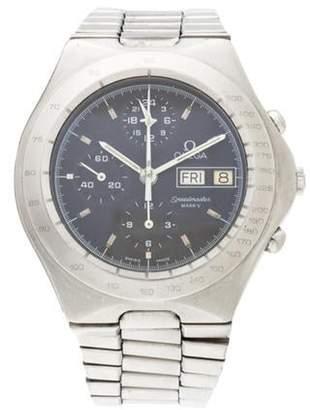 Omega Speedmaster Mark V Watch black Speedmaster Mark V Watch