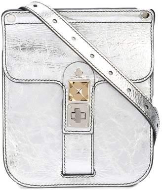Proenza Schouler Metallic PS11 Convertible Box Bag