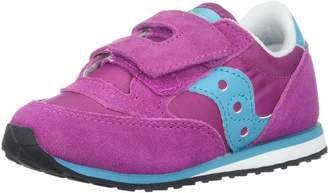 Saucony Kids Baby Jazz HL Running Shoes, Magenta/Blue