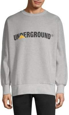 Etudes Underground Logo Crew Sweater