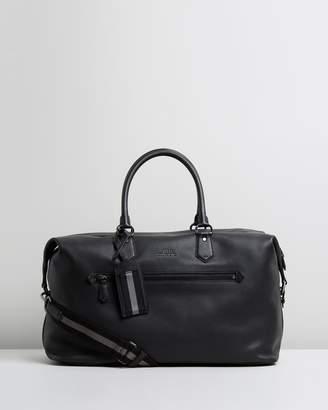 Polo Ralph Lauren Pebbled Leather Duffle Bag