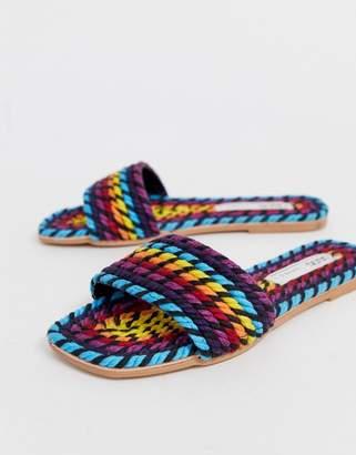 293ac3e9a55b Asos Design DESIGN Jayme rope sandals