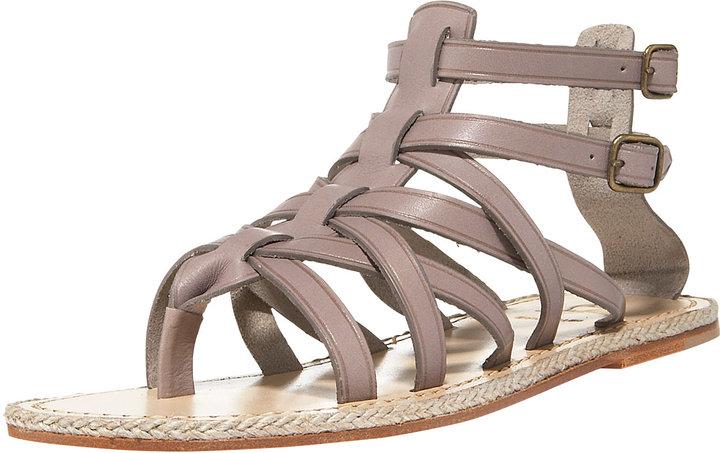 Christian Louboutin Flat Gladiator Sandal
