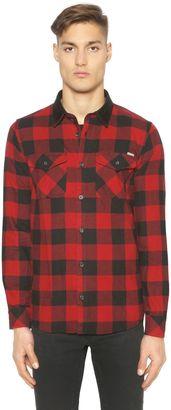 Plaid Cotton Twill Shirt $147 thestylecure.com