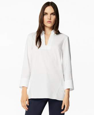 Brooks Brothers Stretch Cotton Tunic