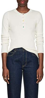 Lisa Perry Women's Rib-Knit Cashmere Henley