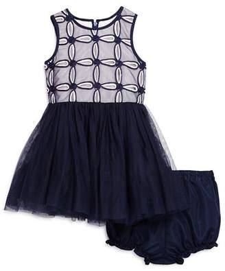 Pippa & Julie Girls' Floral Tutu Dress & Bloomers Set - Baby