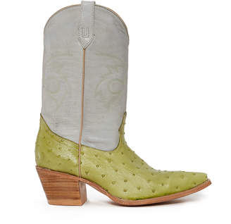 Baby Angel X Caballo Dorado Women's High Ostrich Boot