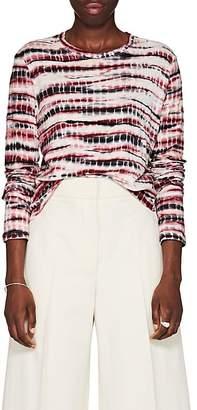 Proenza Schouler Women's Tie-Dyed Cotton T-Shirt