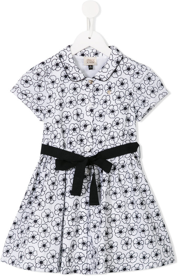 Armani Junior Armani Junior floral print dress