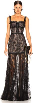 Alexis Kieran Dress in Black Lace | FWRD