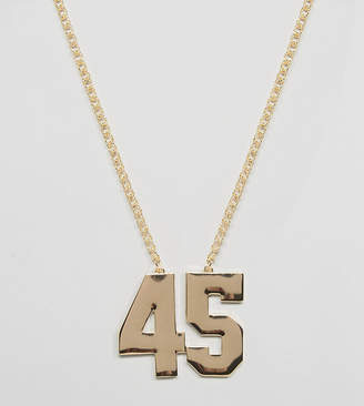 Asos 45 Necklace