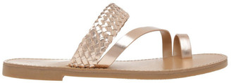 Miss Shop Maeve Rose Gold Sandal