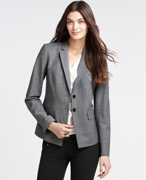 Ann Taylor Tropical Wool Aiden Jacket