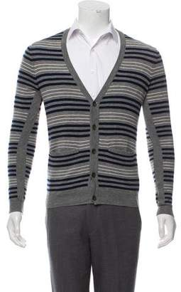 Rag & Bone Striped Merino Wool Cardigan