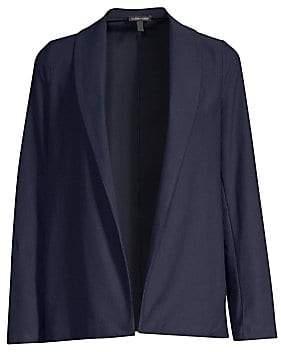 Eileen Fisher Women's Shawl Collar Jacket