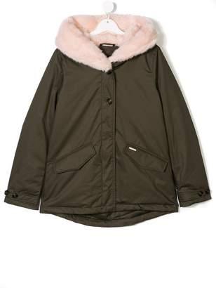 Woolrich Kids TEEN hooded parka coat