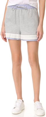 3.1 Phillip Lim French Terry Shorts $250 thestylecure.com