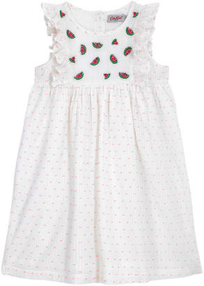 Cath Kidston Kids Embroidered Dress With Frill