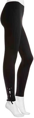 Nine West Lace-Up Leggings - Women's
