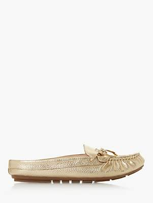 Dune Giovanni Low Back Moccasin Loafers