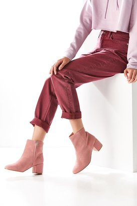 Thelma Suede Ankle Boot $98 thestylecure.com
