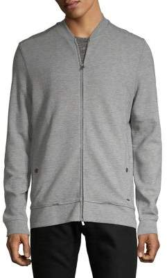HUGO BOSS Zip-Up Sweater