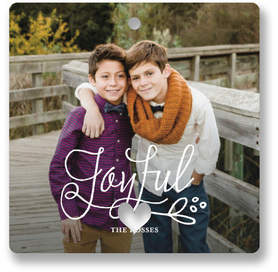 Simply Joyful Holiday Ornament Cards