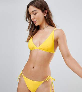 South Beach Thin Strap Triangle Bikini Top
