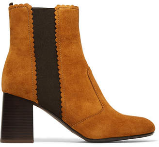 See by Chloe Suede Chelsea Boots - Tan