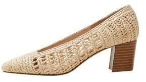 MANGO Braided heel shoes