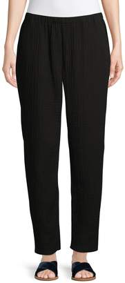 Eileen Fisher Tapered Pull-On Ankle Pants