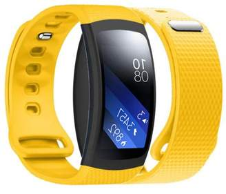 Samsung DZT1968 Luxury Silicone Watch Replacement Band Strap For Gear Fit 2 SM-R360