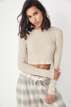 Out From Under Kassy Thermal Cropped Top
