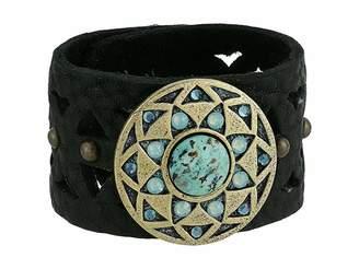Leather Rock Rylee Bracelet