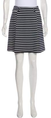 Christian Dior Striped Mini Skirt