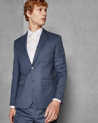 7925241b6cd447 Ted Baker KAMCHAJ Debonair skinny wool suit jacket