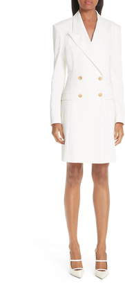 By Any Other Name Long Sleeve Double Breasted Blazer Minidress