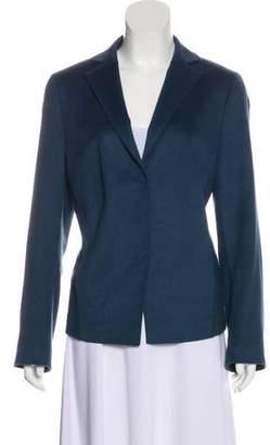Akris Punto Wool and Angora-Blend Blazer