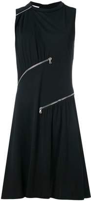 Moschino zip detail T-shirt dress